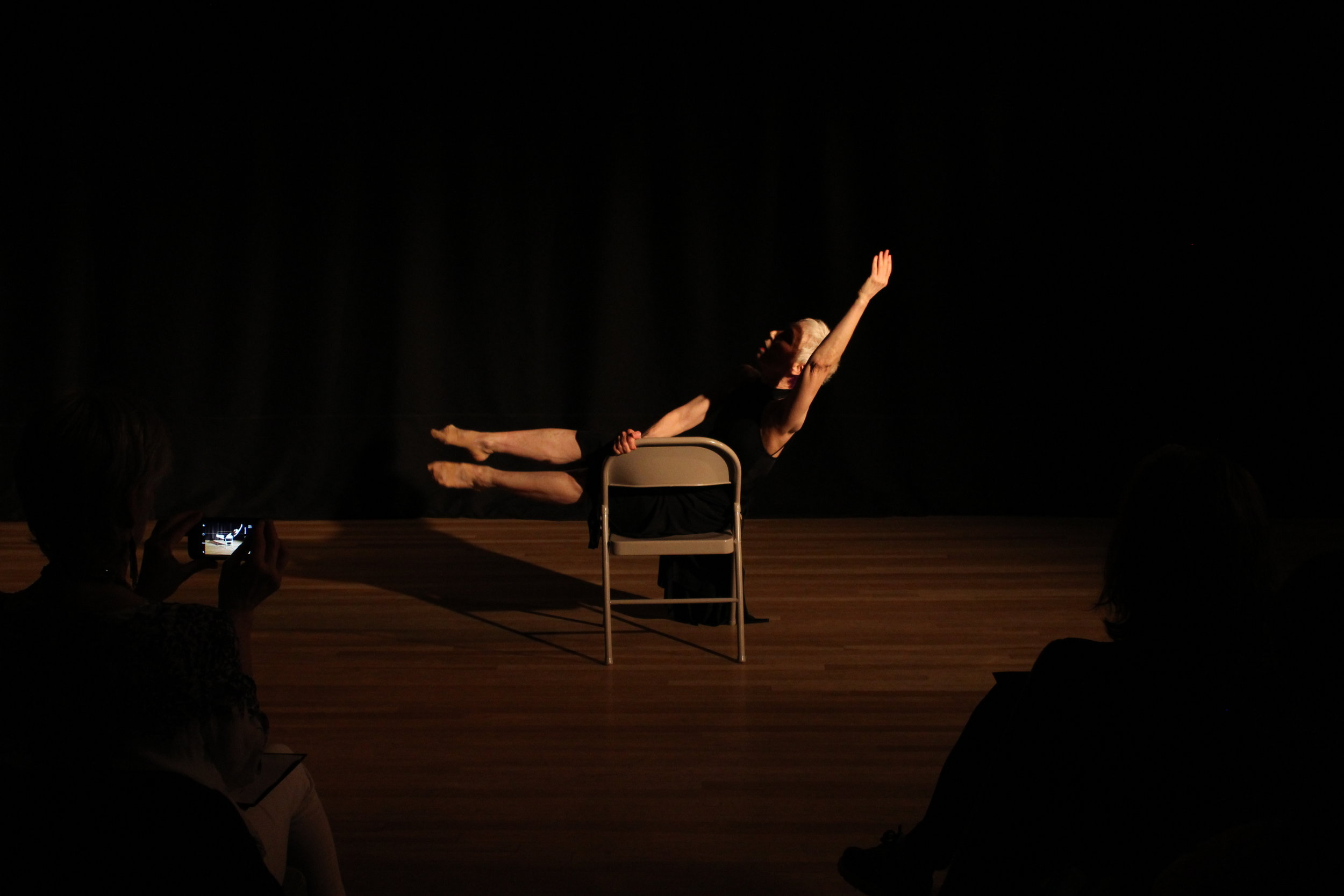 Choreographer:    Katiti King     Dancer:    Wendy Weiss    Photo by Joseph Heitman of One Day Dance