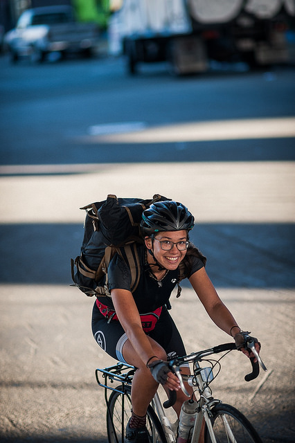 Women's speed category racer Charlotte Hryse. Photo by Kurt Brown