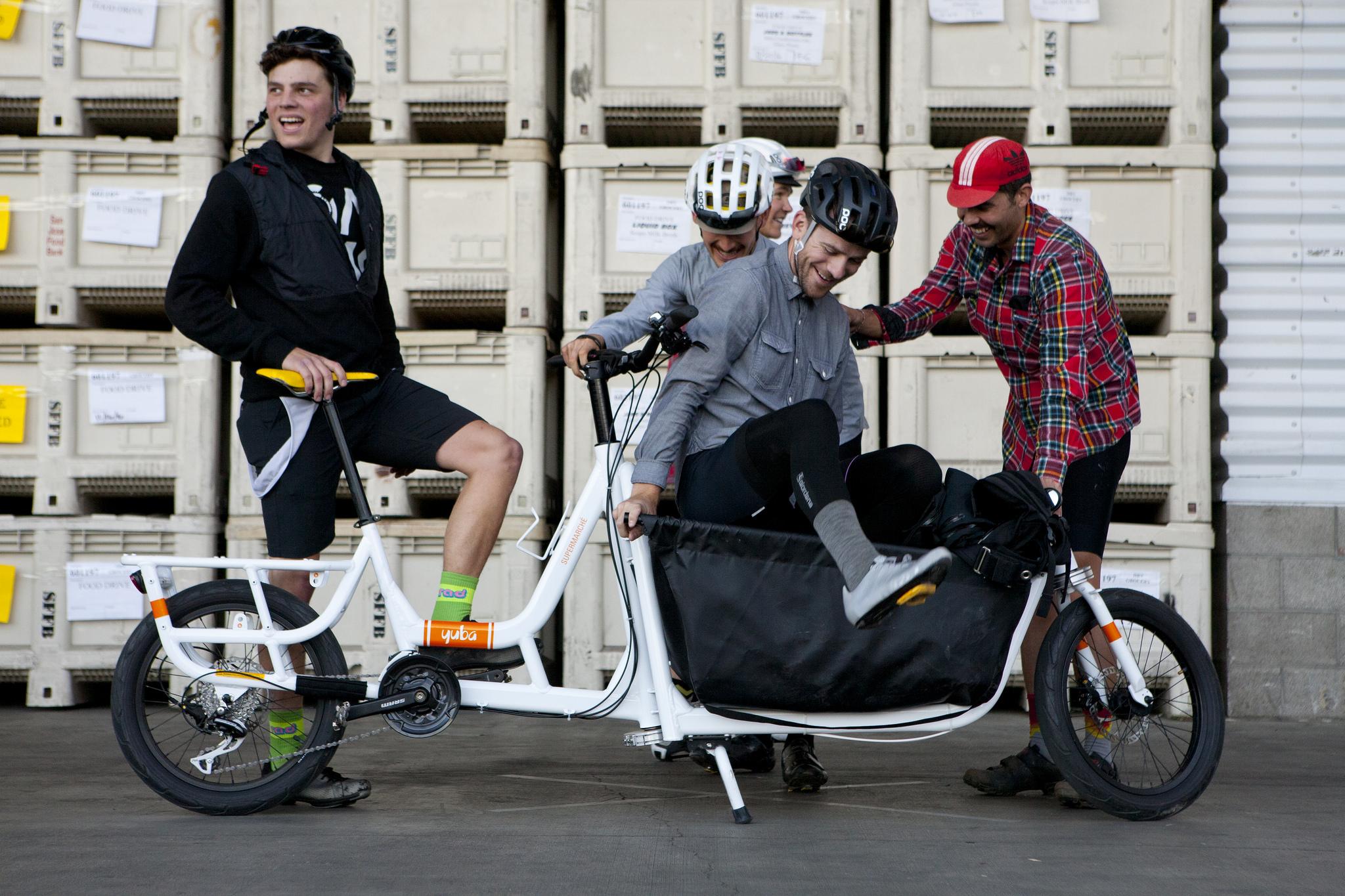Team No Yer Squad (Matthew Wiebe, Ryan Schaub, Jake Perkins, Tim Hart, Naveen Molloy). Photo by Jonathan Koshi