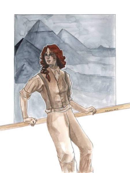 "2013 copyright Autumn Frederickson, for ""Athena's Daughters."""