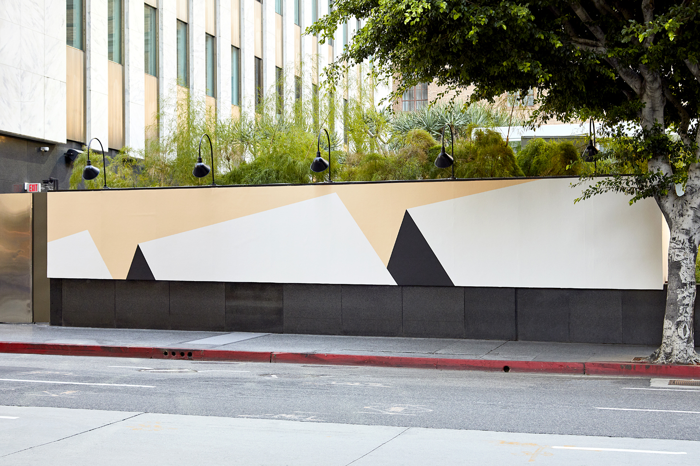 Tofer Chin Mural The Standard DTLA Frieze LA
