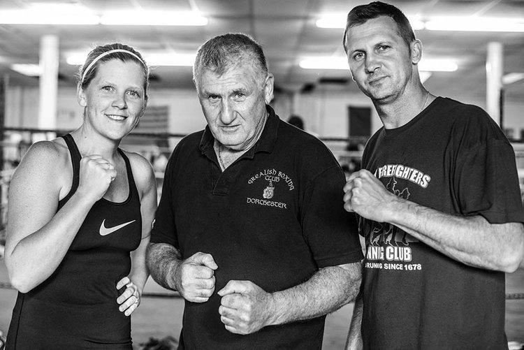 Women's Boxing Class Trainer: Nicola Dillon.