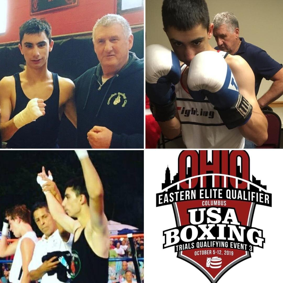 Good Luck to Grealish Boxing's fighter Cameron Regas as he fights in Ohio this week at the USA Boxing Eastern Elite Championships!