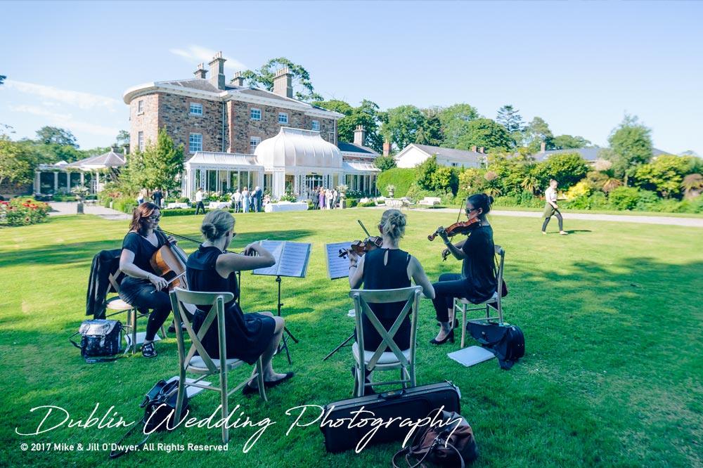Marlfield House Wedding  Musicians