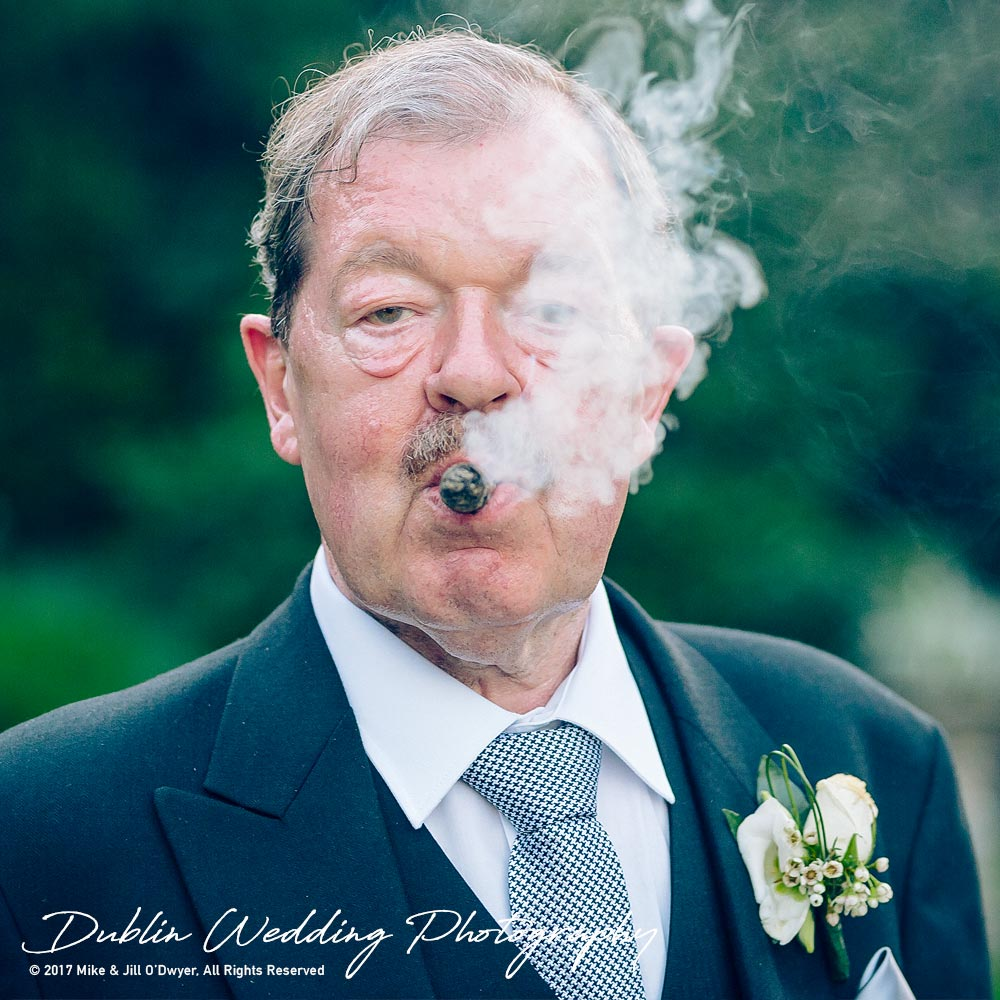 Marlfield House Wedding Father of the Bride at marfield House