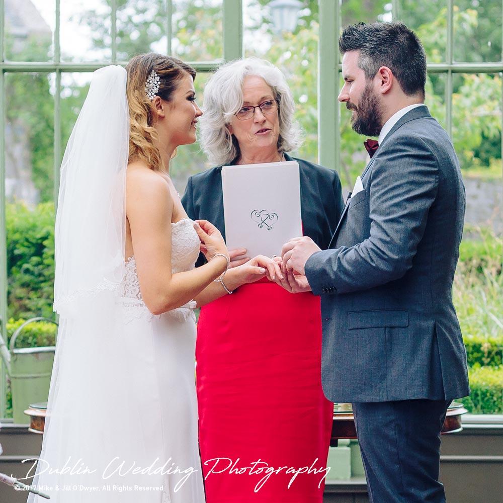 Cliff at Lyons wedding Bride & Groom rings
