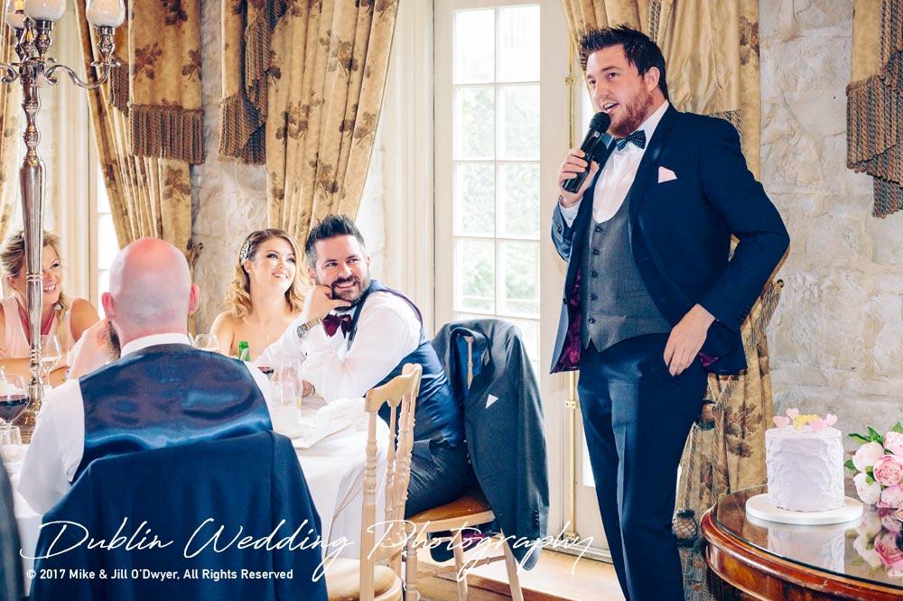Cliff at Lyons Wedding Best Man speech