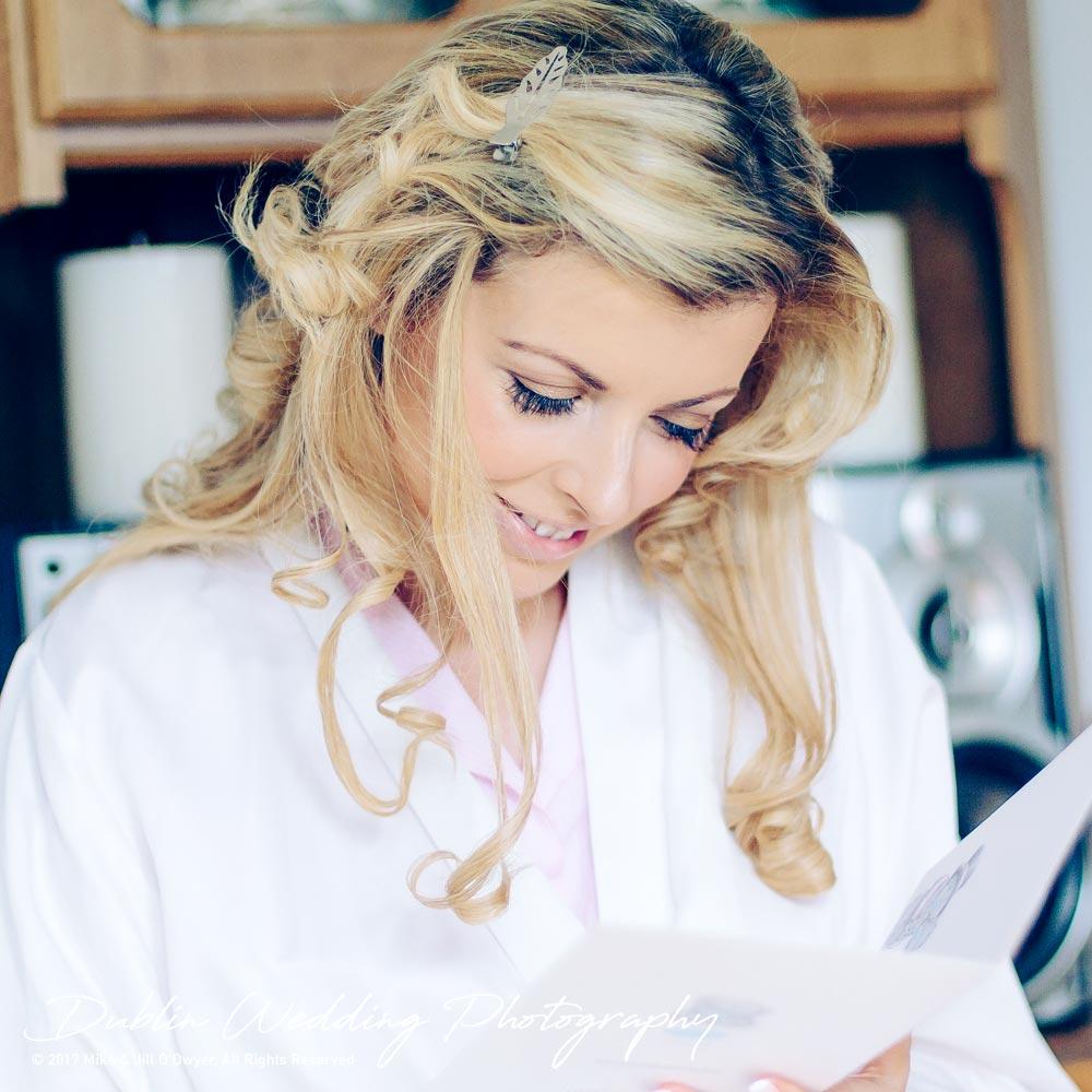 Clonabreany House Bride Prep reading card