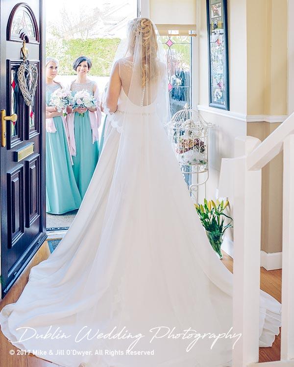 Clonabreany Bride Leaving home