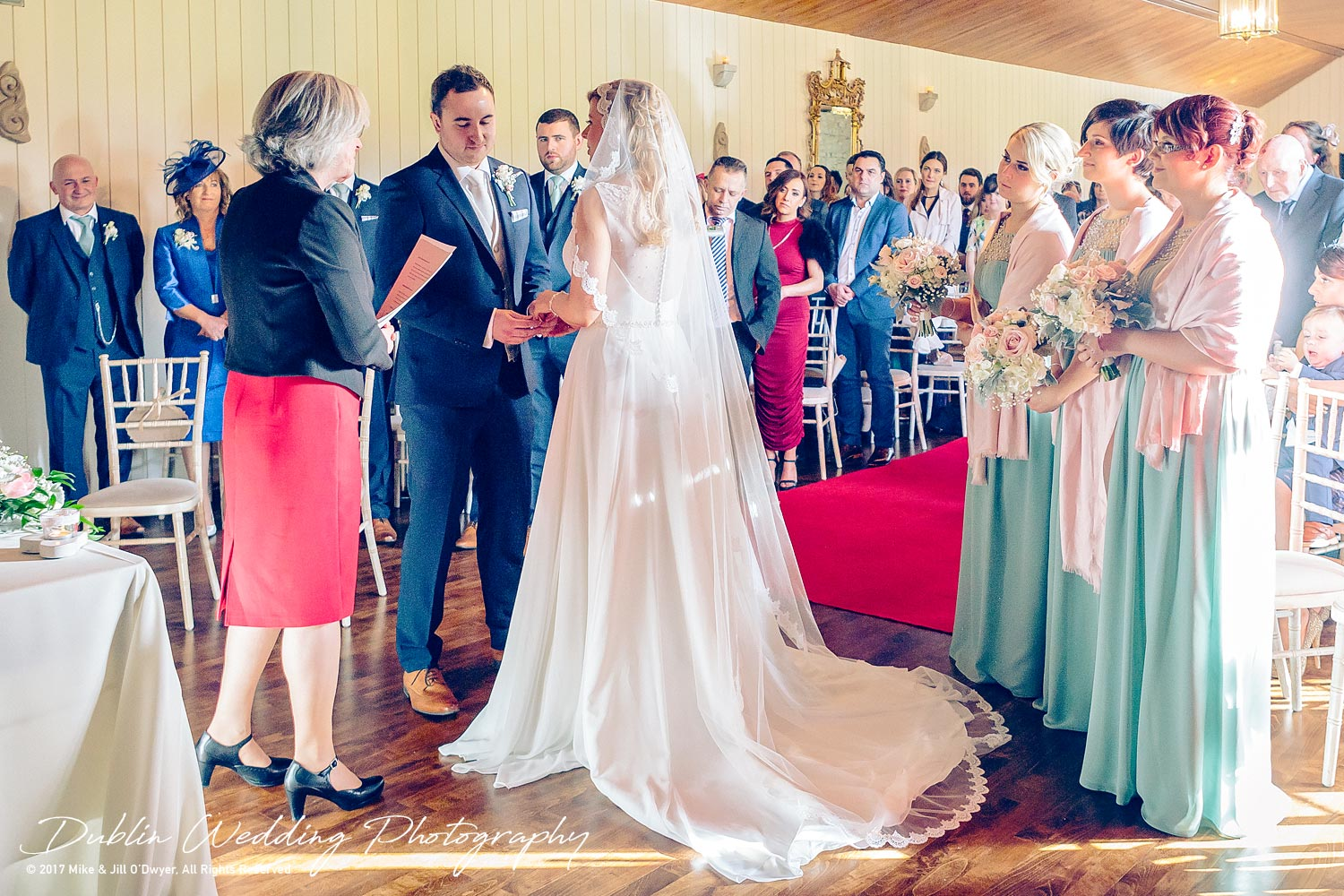 Clonabreany House Wedding Bride and Groom and Rings