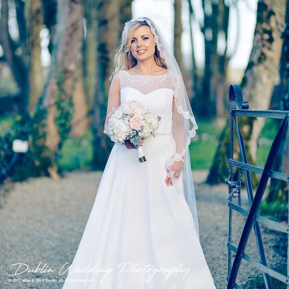 Clonabreany Bride at Gate