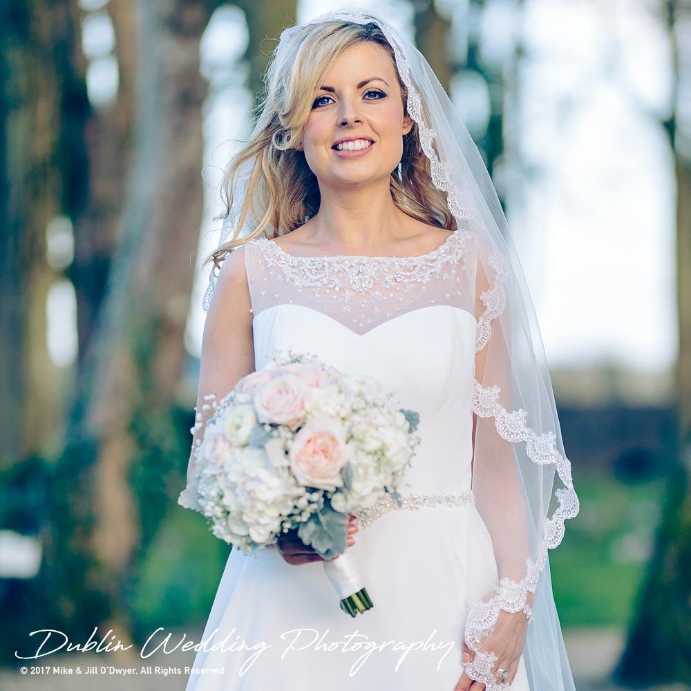 Clonabreany Bride at gate Closer