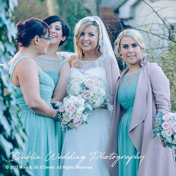 Clonabreany House Wedding Bridesmaids
