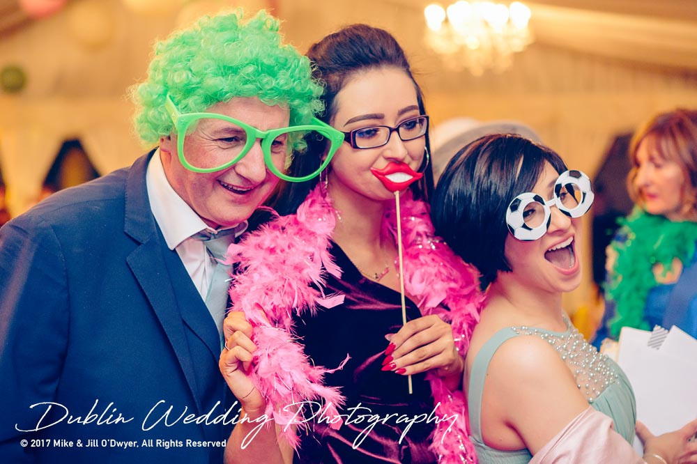 Clonabreany House Wedding party celebrations