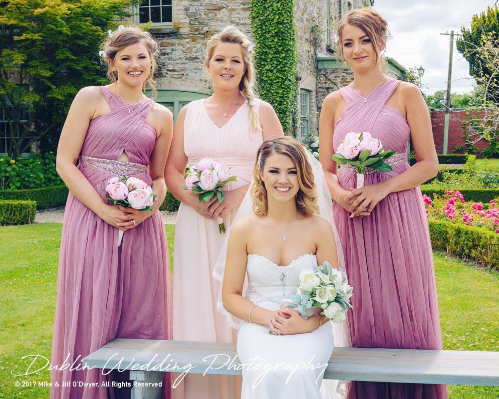 wedding photographer at Cliff at Lyons - Bride & Bridesmaids