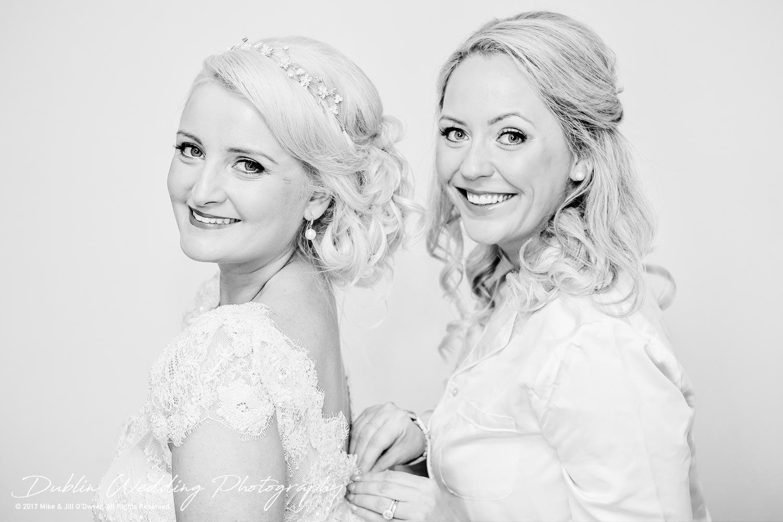 Wedding Photographers Carlow Bride & Bridesmaid