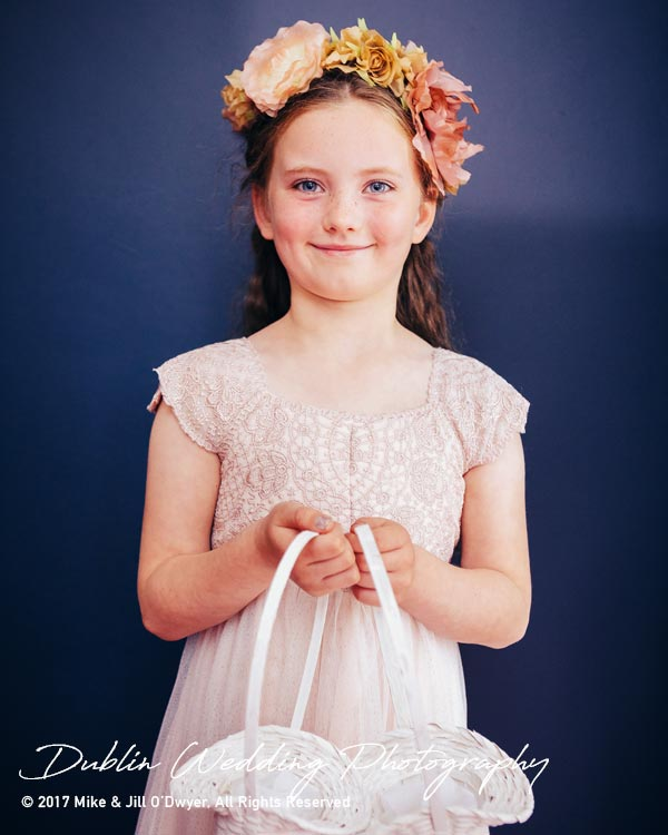 Wedding Photographers Carlow Flowergirl