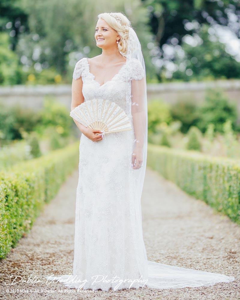 Wedding Photographer Ducketts Grove Bride 1