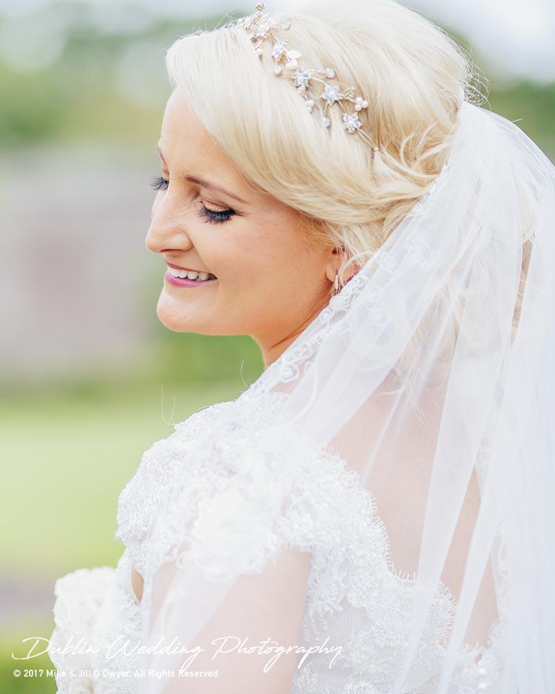 Wedding Photographer Ducketts Grove Bride 3