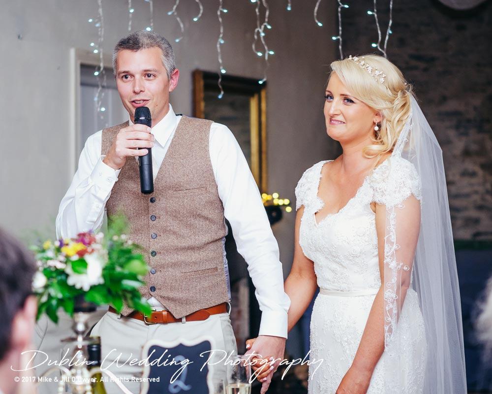 Wedding Photographer Trudder Lodge Groom Speech