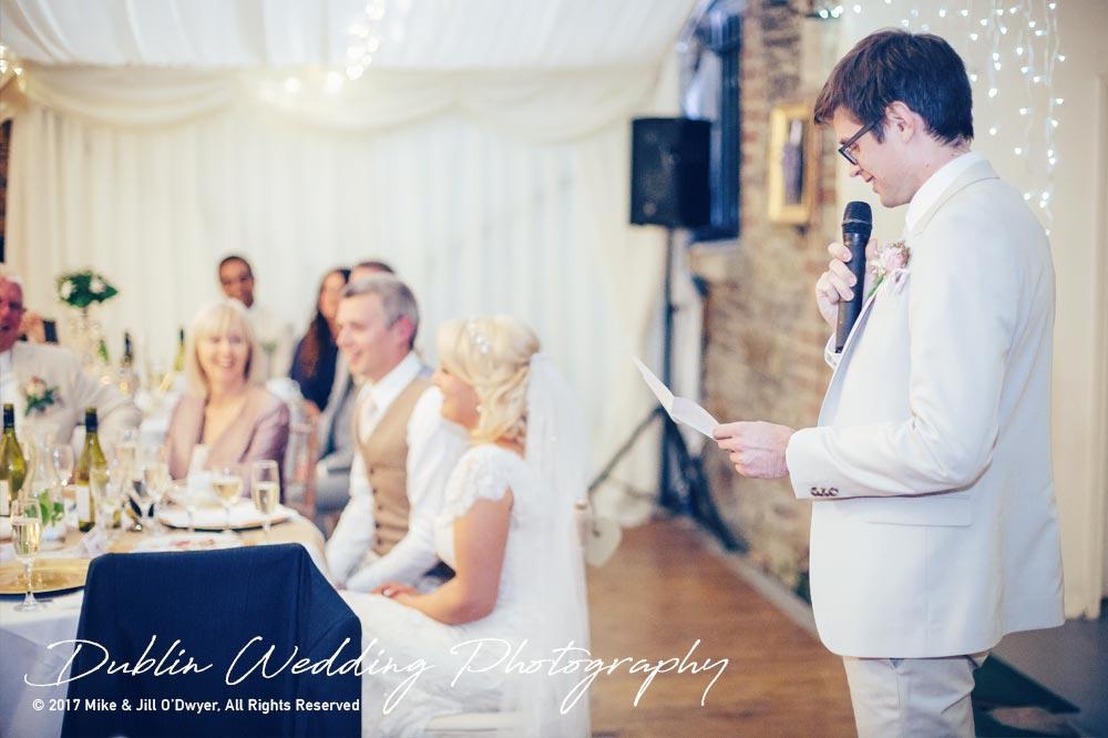 Wedding Photographer Trudder Lodge Best Man Speech