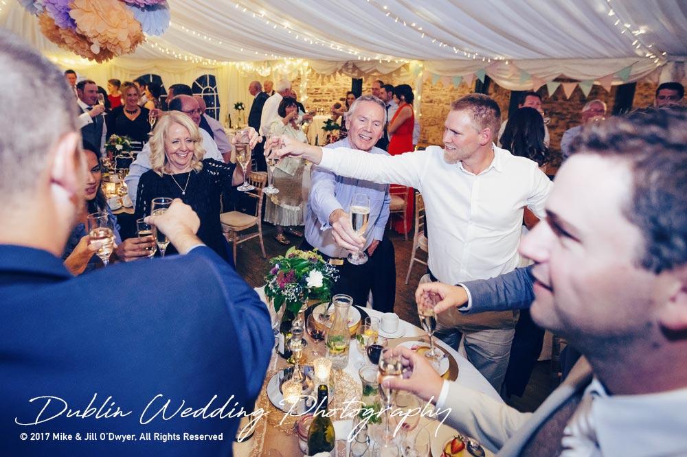 Wedding Photographer Trudder Lodge Toasts
