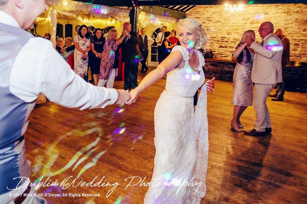 Trudder Lodge Bride & Groom Dancing