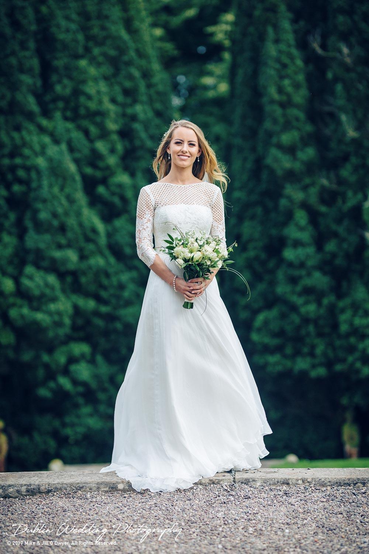 Wedding Photographer Dublin Bride at Castle Leslie