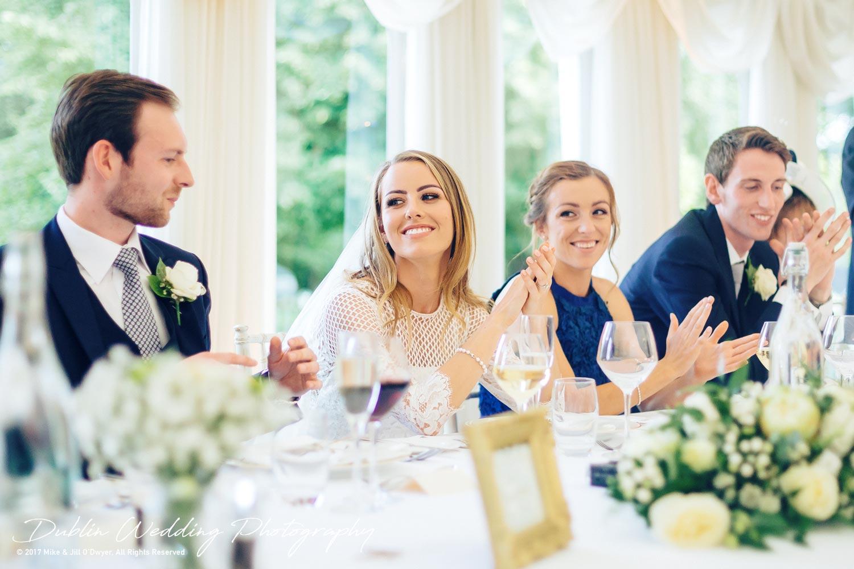 Dublin Wedding Photography Castle Leslie Fathers Speech