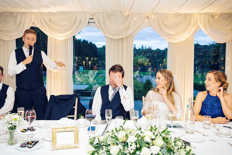 Dublin Wedding Photography Castle Leslie Best Man's Speech