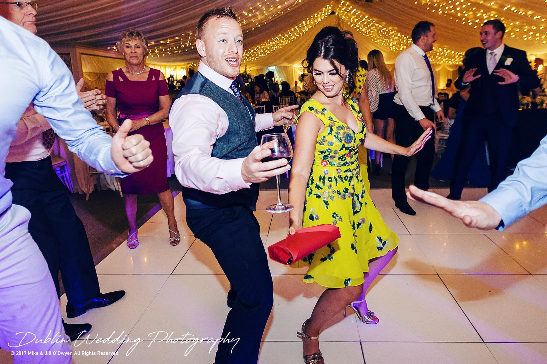 Dublin Wedding Photography Castle Leslie Guests Dancing