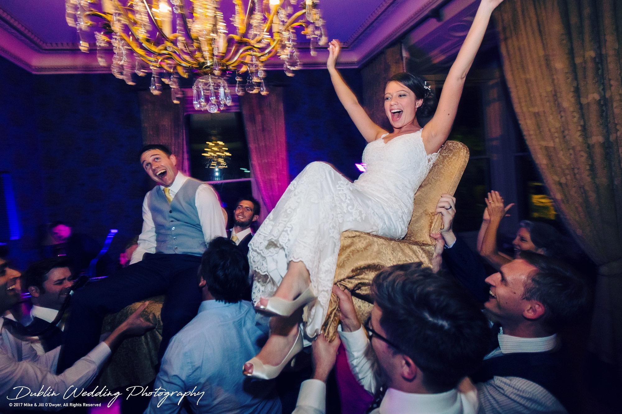 Ariel & Chris Hora dance for Bride & Groom