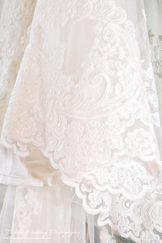 Ariel's Wedding Dress detail