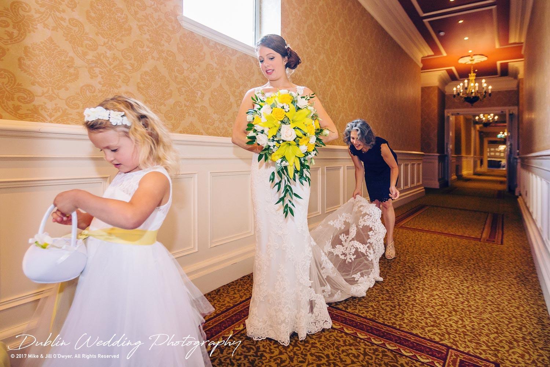Wedding Photographers Killashee Hotel Bride Arriving