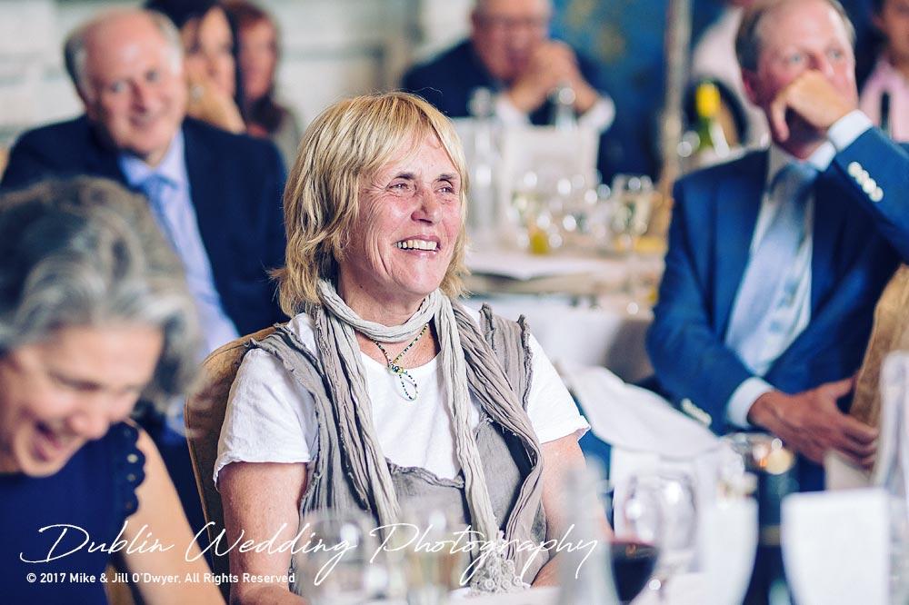 Wedding Photographer Killashee Hotel Speeches LAughter