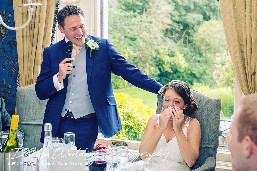Killashee Hotel Wedding Photographers Groom's Speech