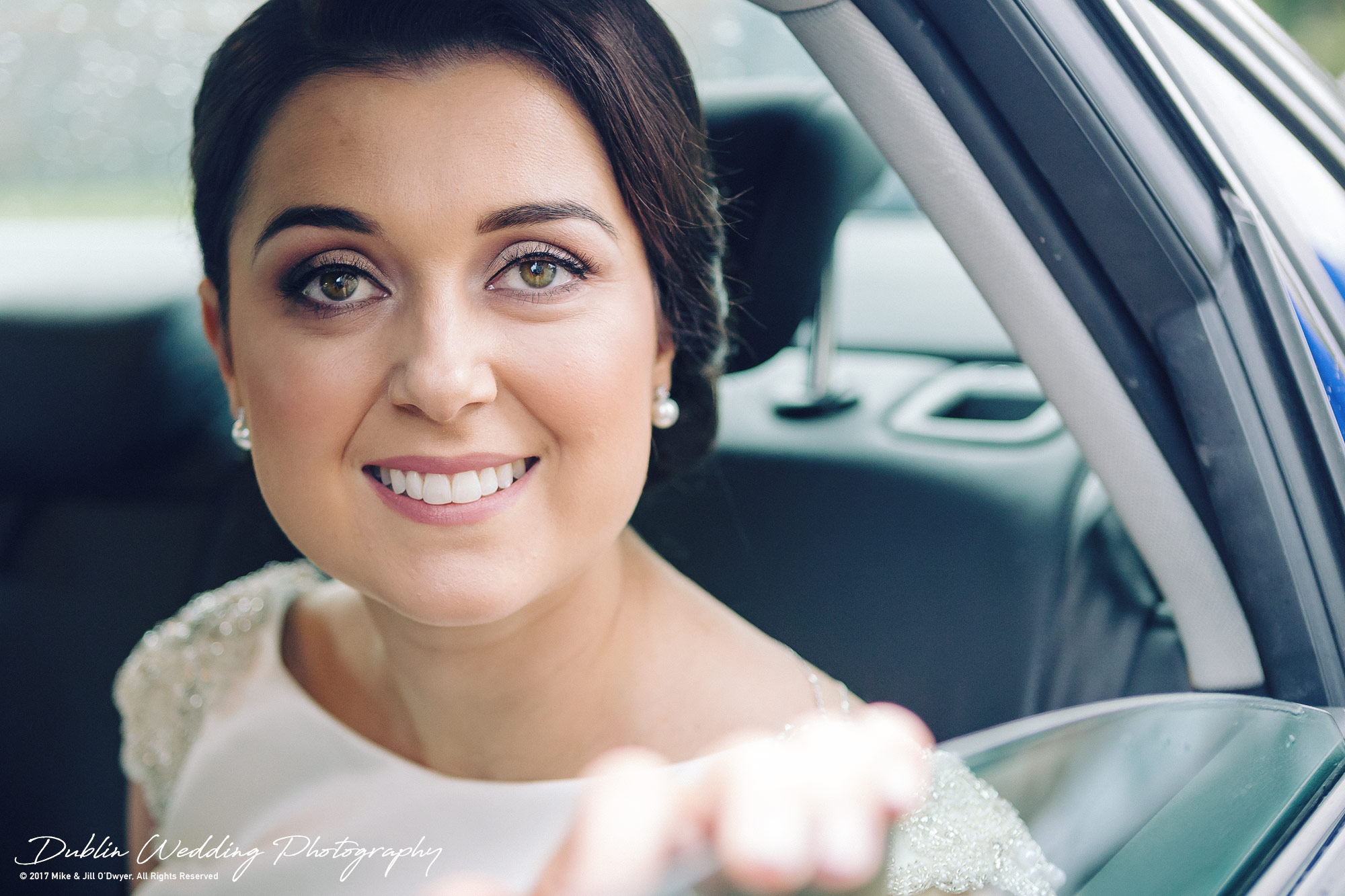 Castle Durrow Wedding Photographer County Wicklow Church Bride Arriving