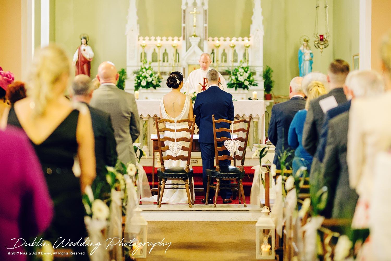 Castle Durrow Wedding Photographer County Wicklow Church Ceremony