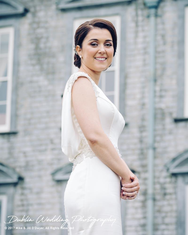 Castle Durrow Wedding Photographer The Bride Posing