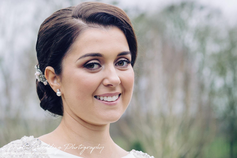 Castle Durrow Wedding Photographer County Laois Bride Headshot