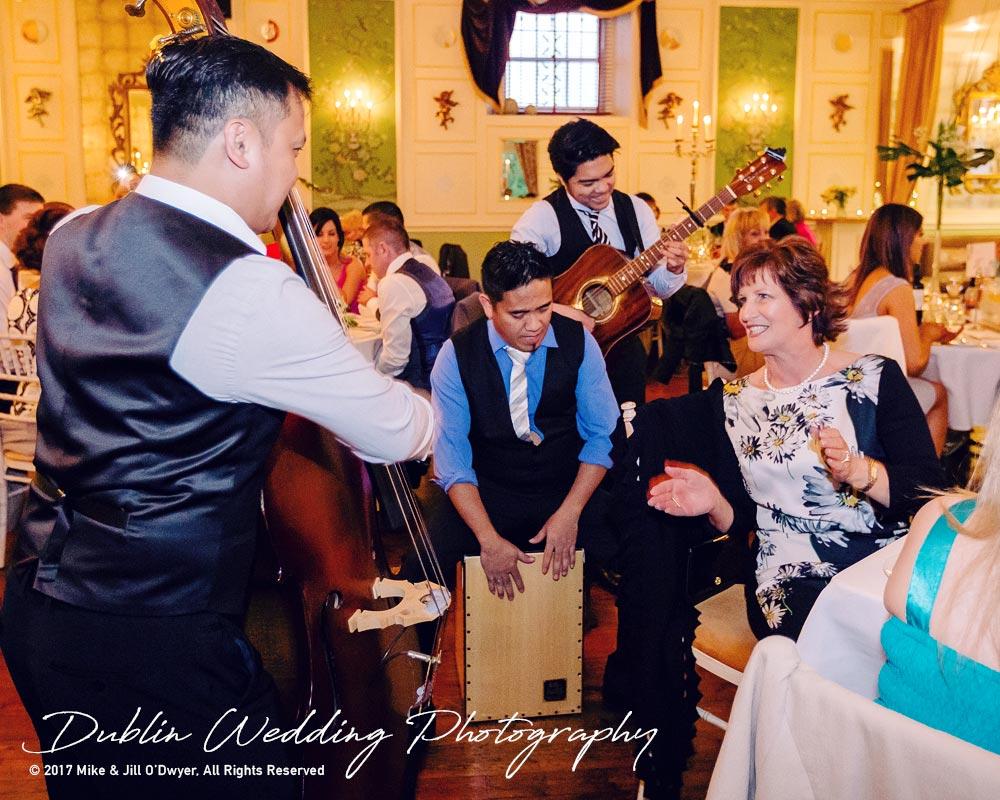 Castle Durrow Wedding Photographer County Laois Entertainment