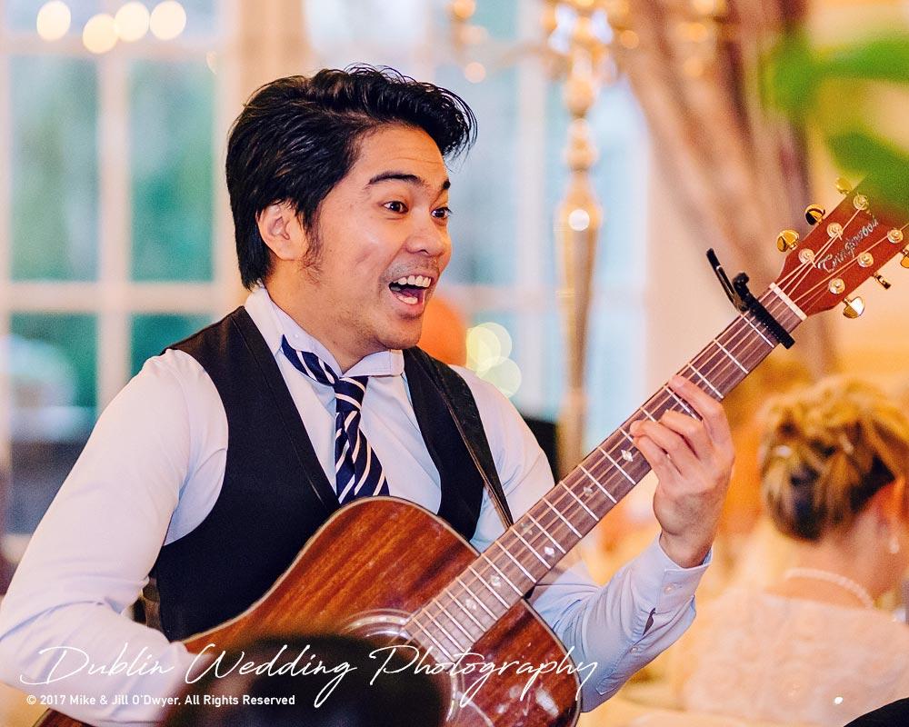 Castle Durrow Wedding Photographer County Laois Musician