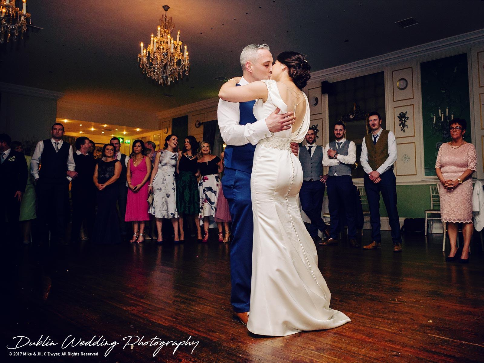 Castle Durrow Wedding Photographer County Laois First Dance