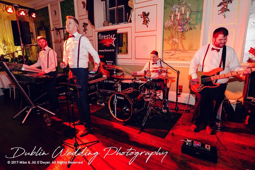 Castle Durrow Wedding Photographer County Laois Firestar Band