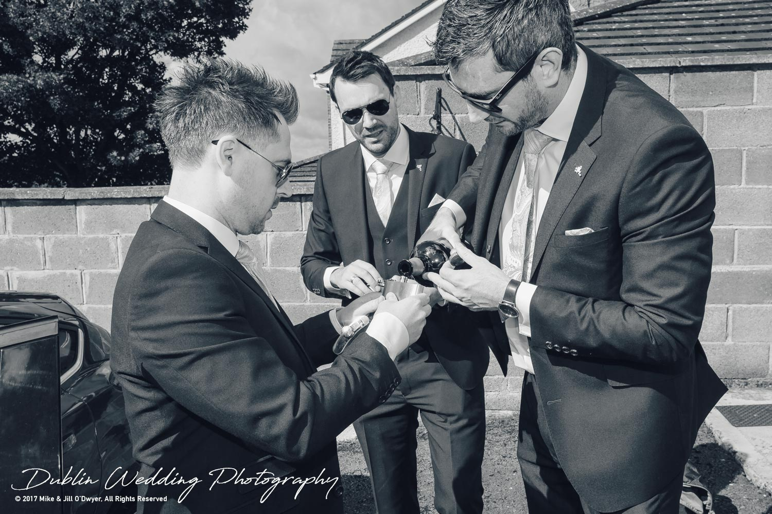 Moyvalley, Balyna House, Wedding Photographer, Kildare, Dublin, Groomsmen & Whiskey