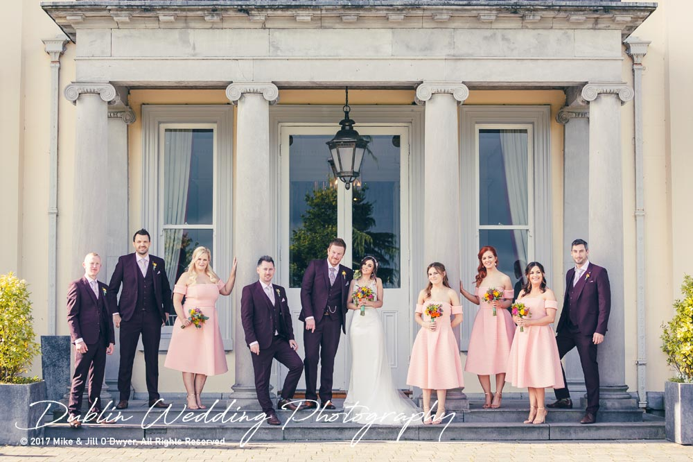 Moyvalley, Balyna House, Wedding Photographer, Kildare, Dublin, Bridal party