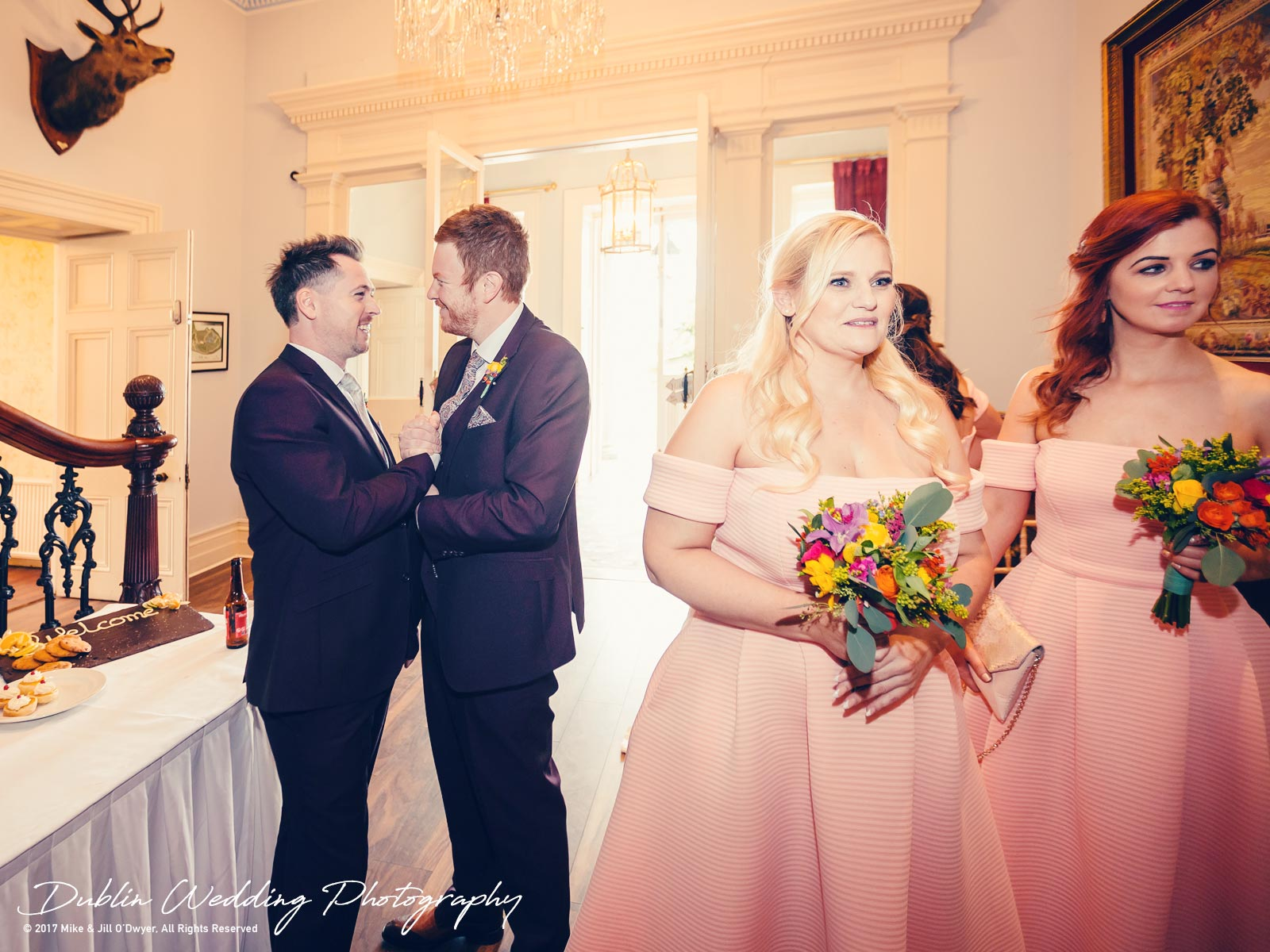 Moyvalley, Balyna House, Wedding Photographer, Kildare, Dublin, Reception Hall Balyna