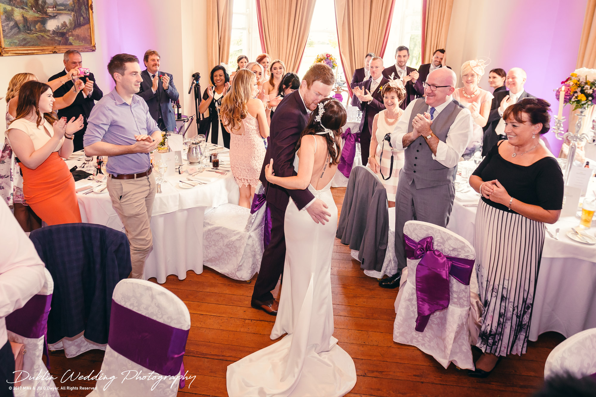 Moyvalley, Balyna House, Wedding Photographer, Kildare, Dublin, Bride & Groom Reception Room