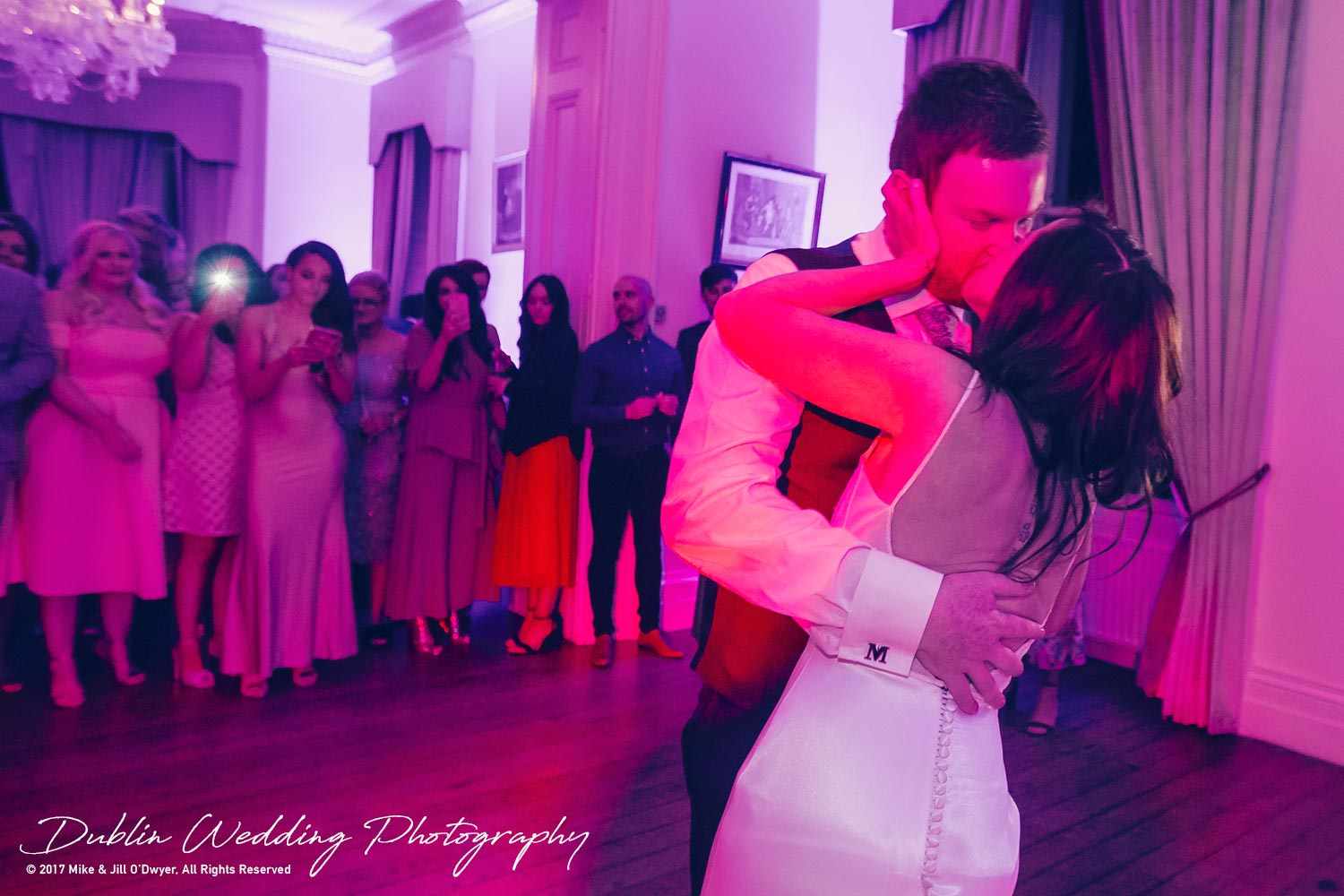 Moyvalley, Balyna House, Wedding Photographer, Kildare, Dublin, First Dances Red Lights Disco
