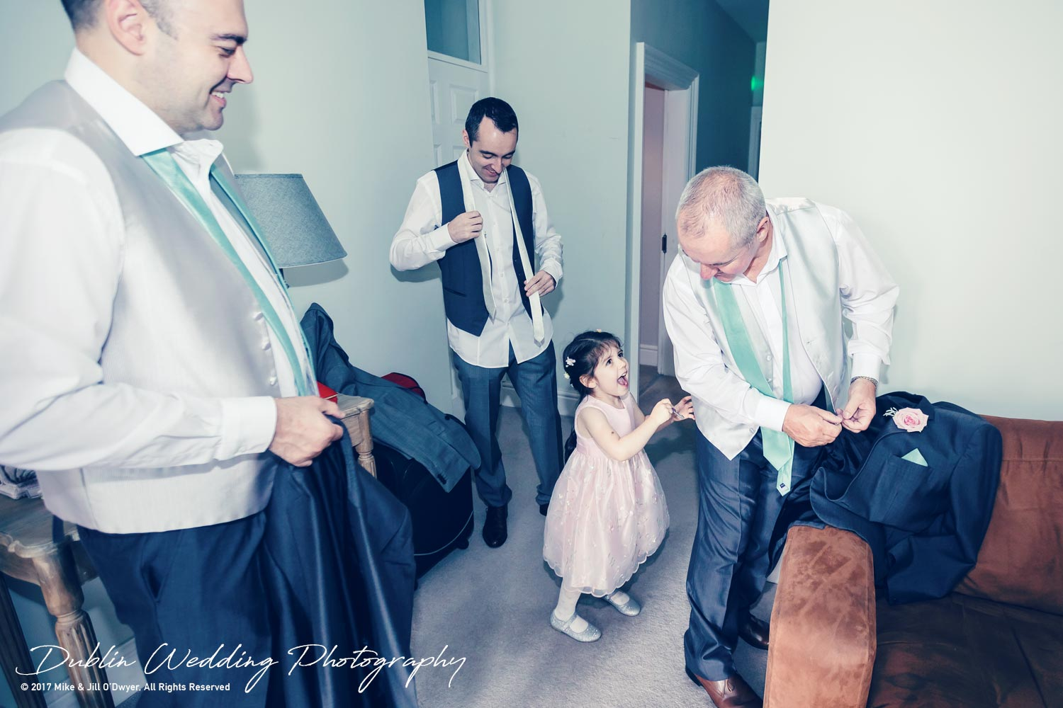 Bellingham Castle, Wedding Photographer, Louth, Dublin, Groom & Groomsmen